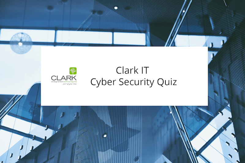 Take our Cyber Security Quiz